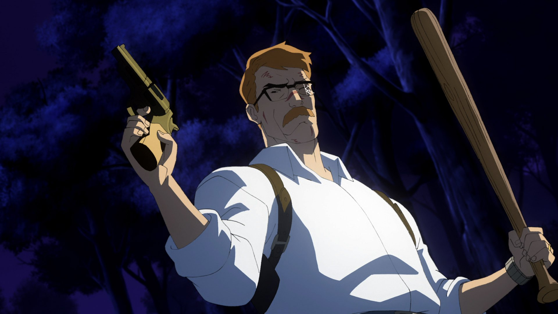 Batman: Year One Screenshot-James Gordon