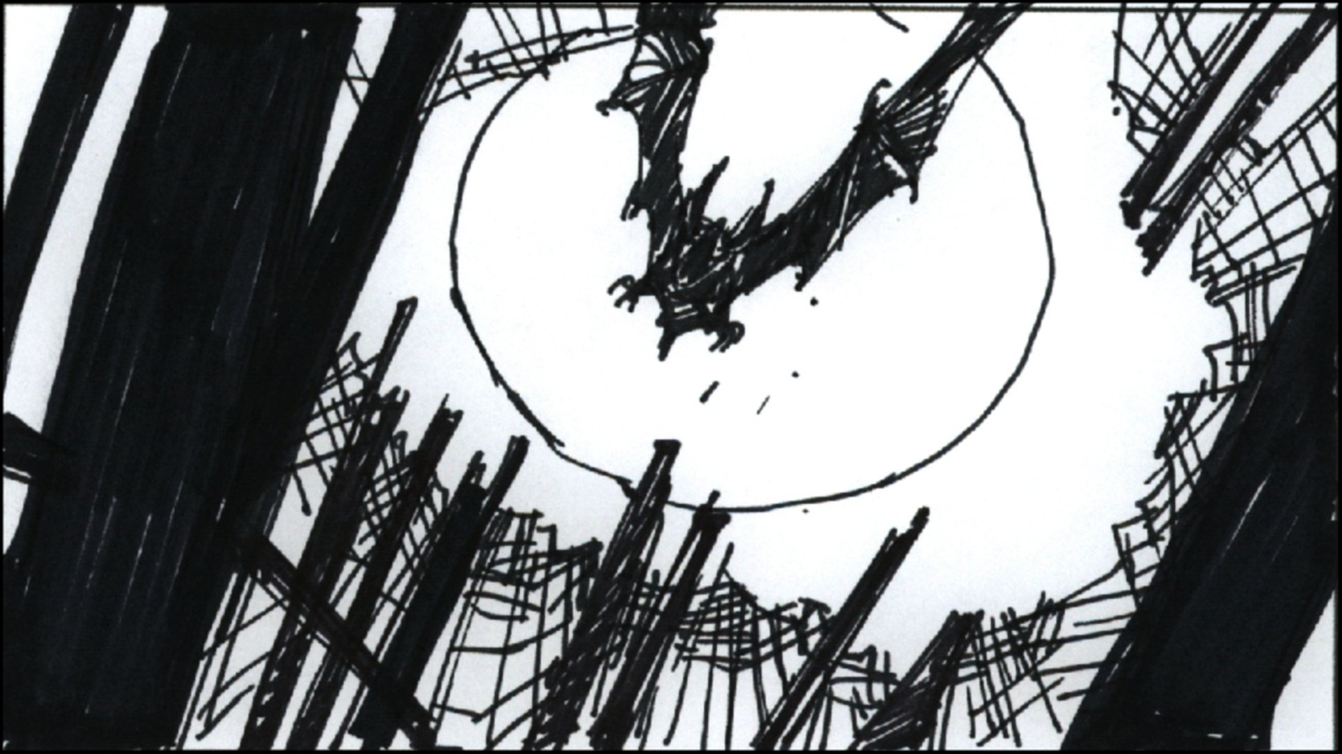 Batman: Year One Storyboard