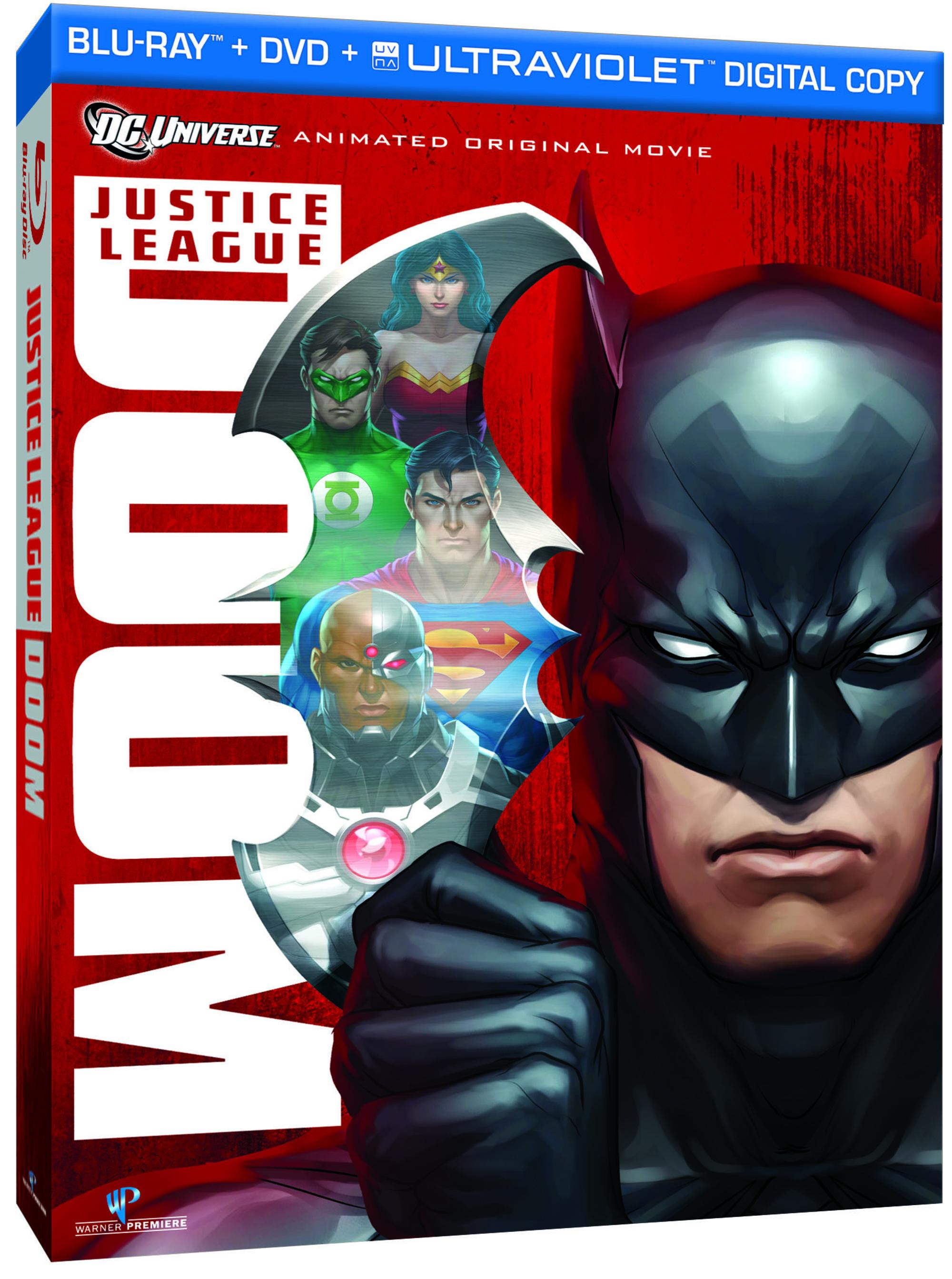 Justice League: Doom Blu-ray Cover Art