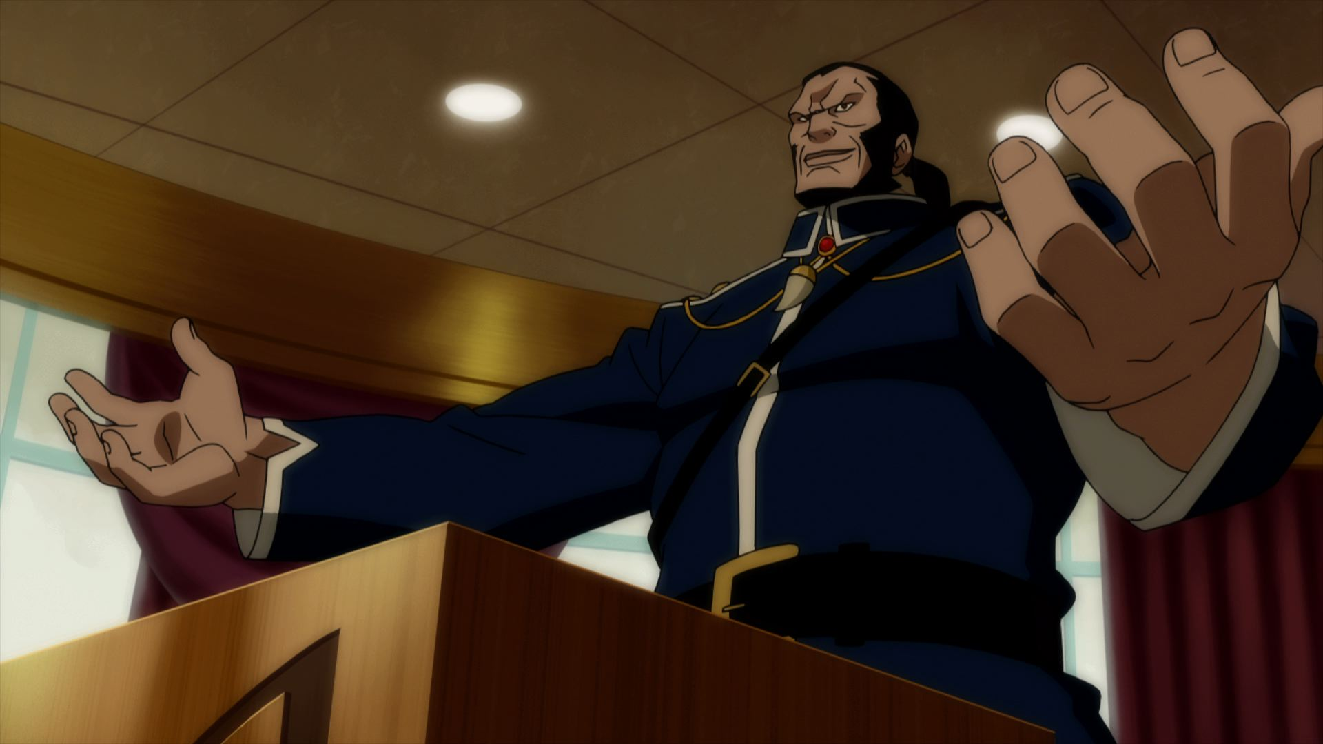 Justice League: Doom Screenshot-Vandal Savage
