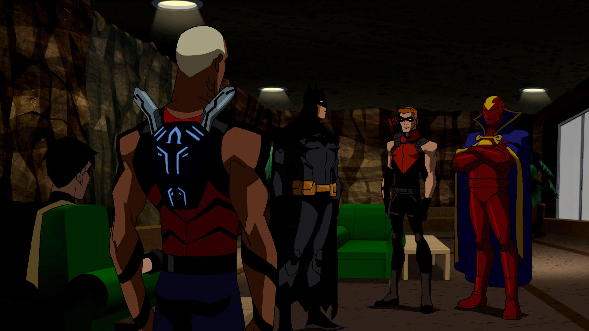 Young Justice-Secrets Screenshot