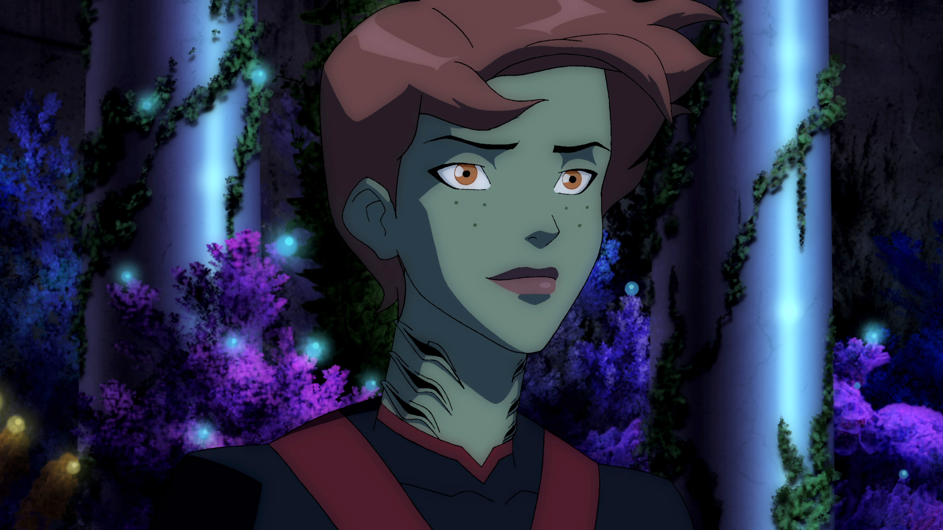 Young Justice Superboy And Miss Martian Get Back Together The Batman Universe �...