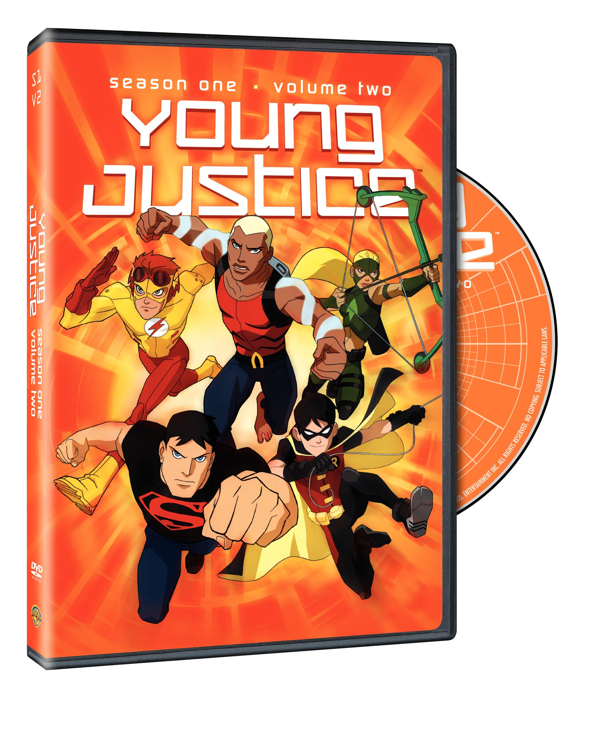Young Justice Season 1 Volume 2 Cover Art