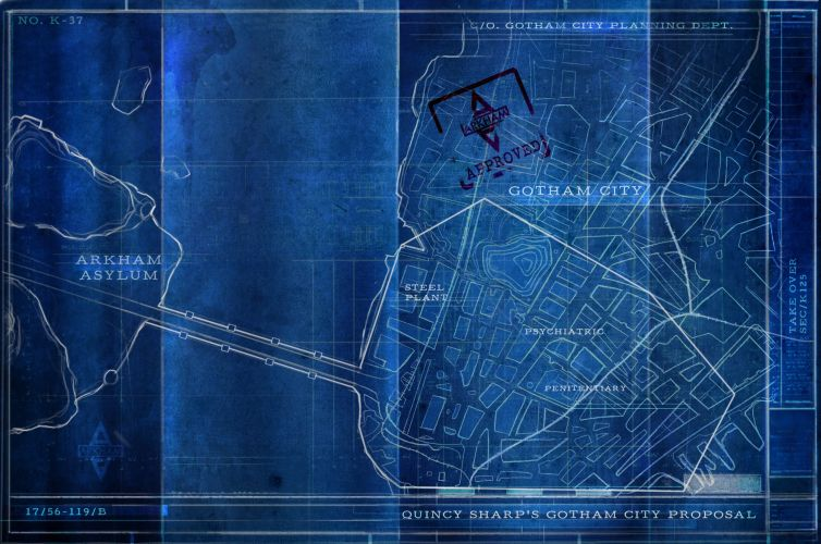 Arkham City Blueprints