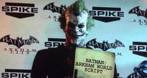 Joker Batman: Arkham World Script