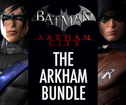 Batman: Arkham City Arkham DLC Bundle