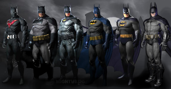 Batman: Arkham City Character Skins