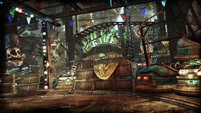 Batman: Arkham City Joker's Carnival Challenge Map
