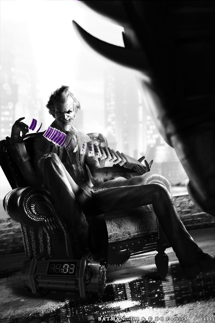 Batman: Arkham City-Joker