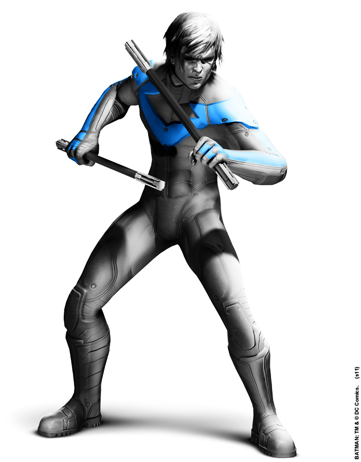 Batman: Arkham City Nightwing