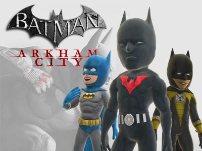 Batman: Arkham City Xbox Live Avatars