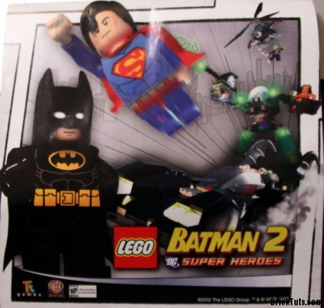 Lego Batman 2 Teaser Image
