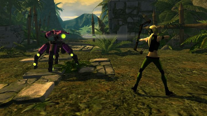 Young Justice: Legacy Screenshot-Artemis