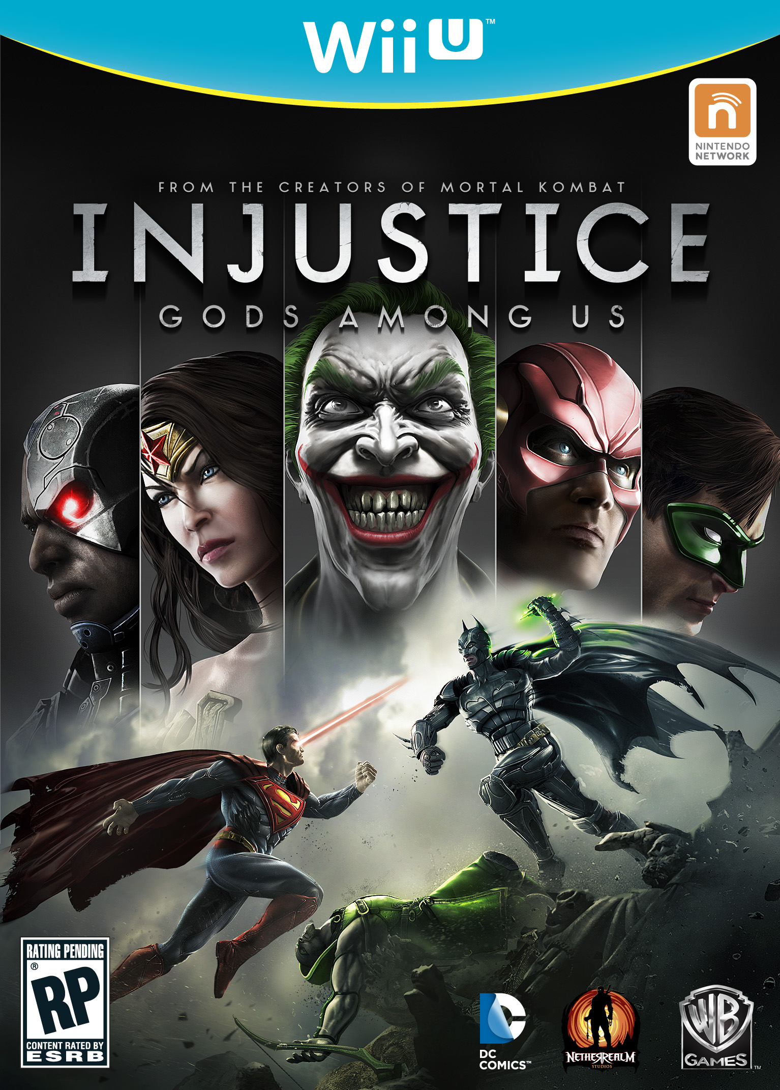 Injustice: Gods Among Us Wii U Cover