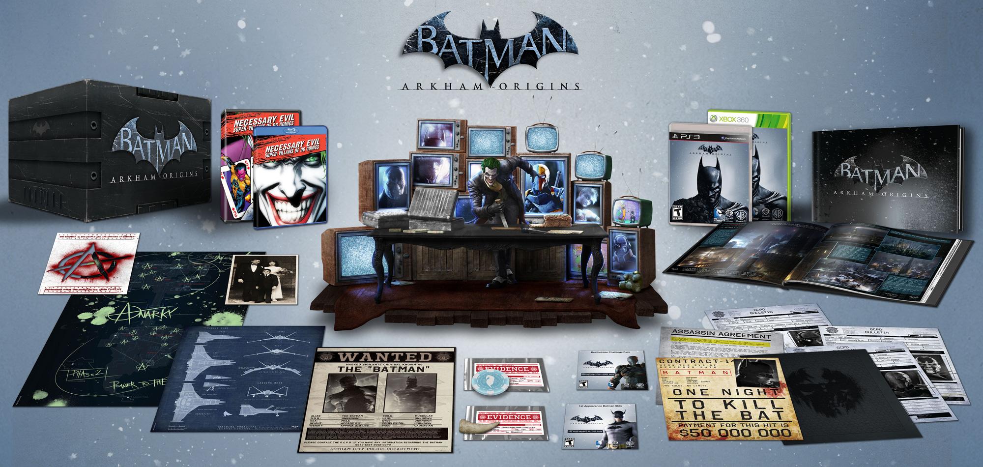 Batman: Arkham Origins US Collector's Edition