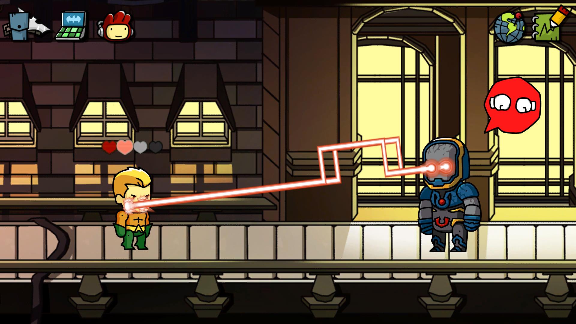 Scribblenauts Unmasked Screenshot