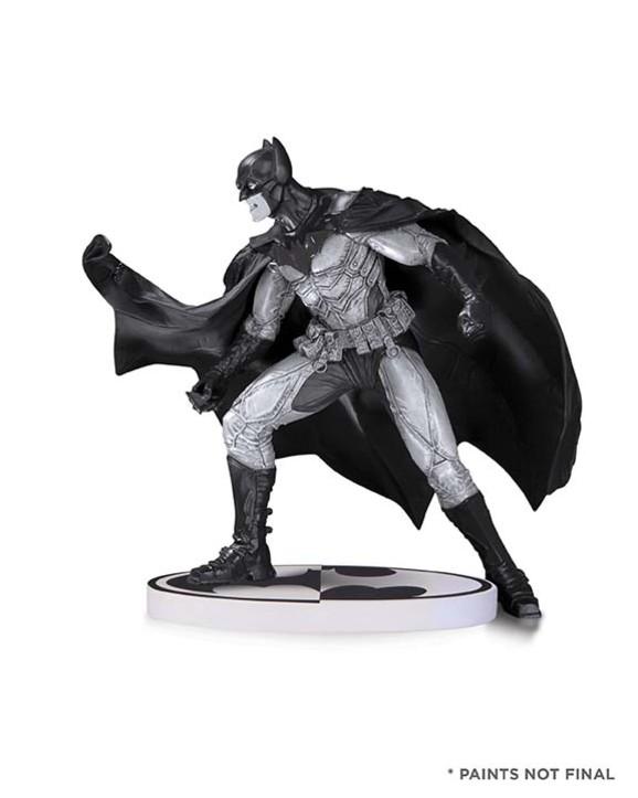 BATMAN: BLACK AND WHITE BATMAN BY LEE BERMEJO SECOND EDITION STATUE