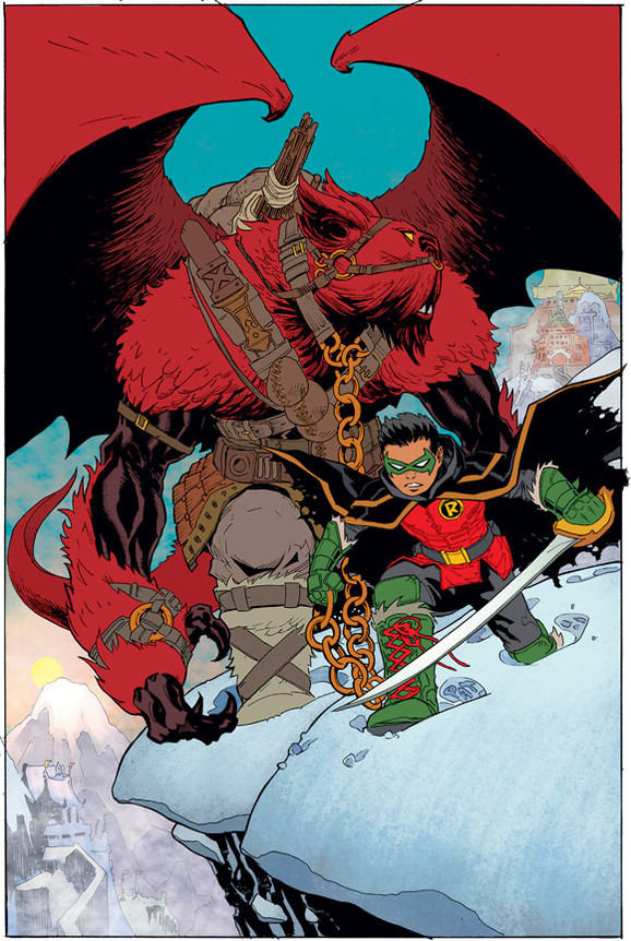 Robin, Son of Batman cover