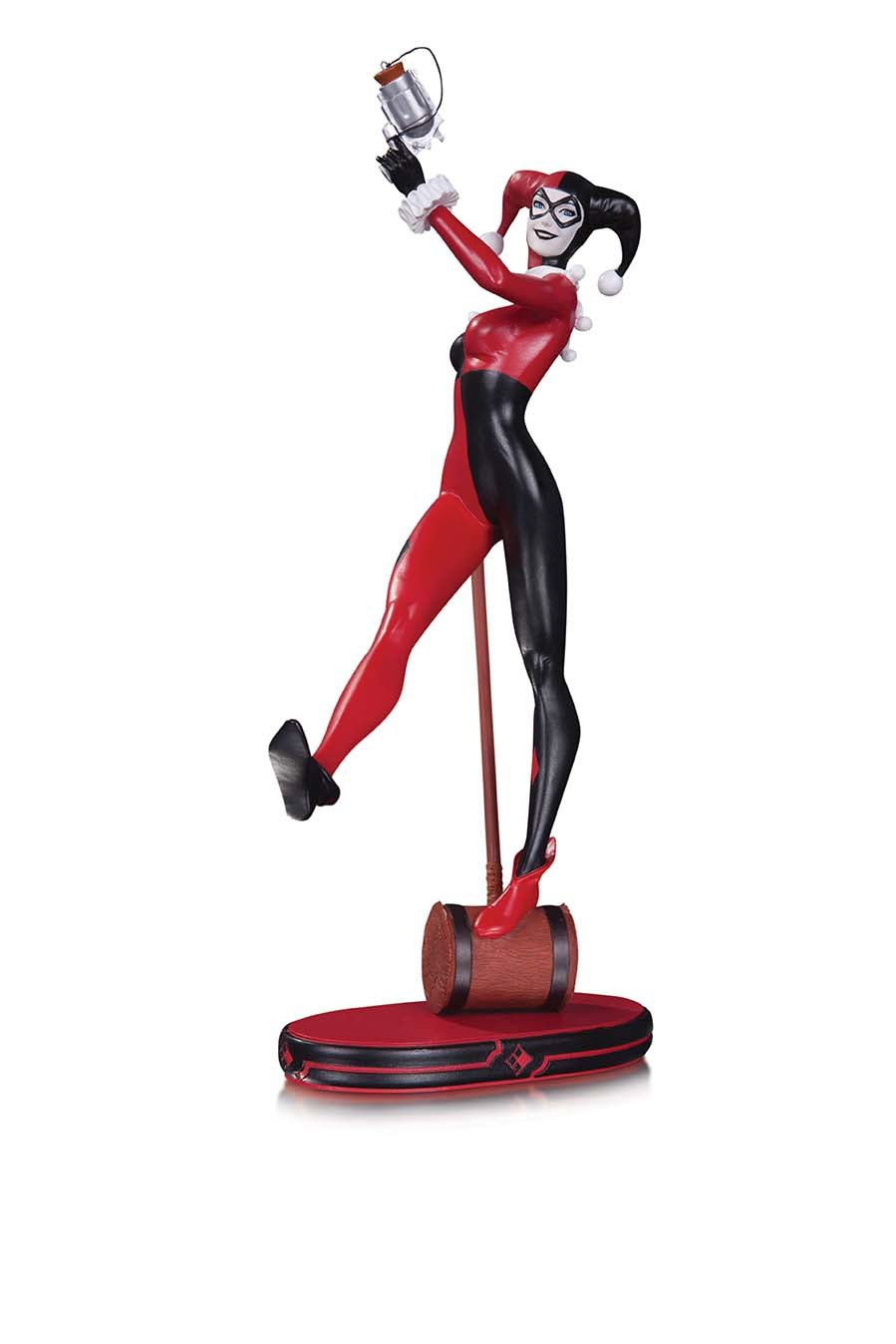 DC COMICS COVER GIRLS: HARLEY QUINN STATUE SECOND EDITION $100