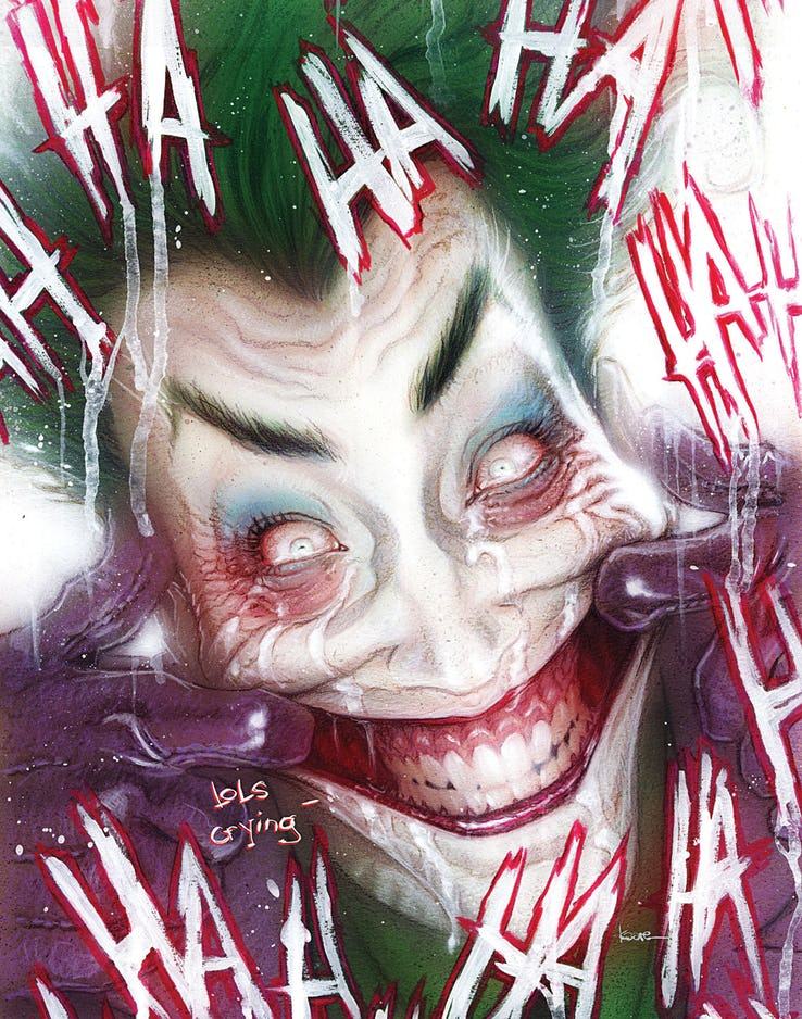 Joker: Killer Smile #1 Variant