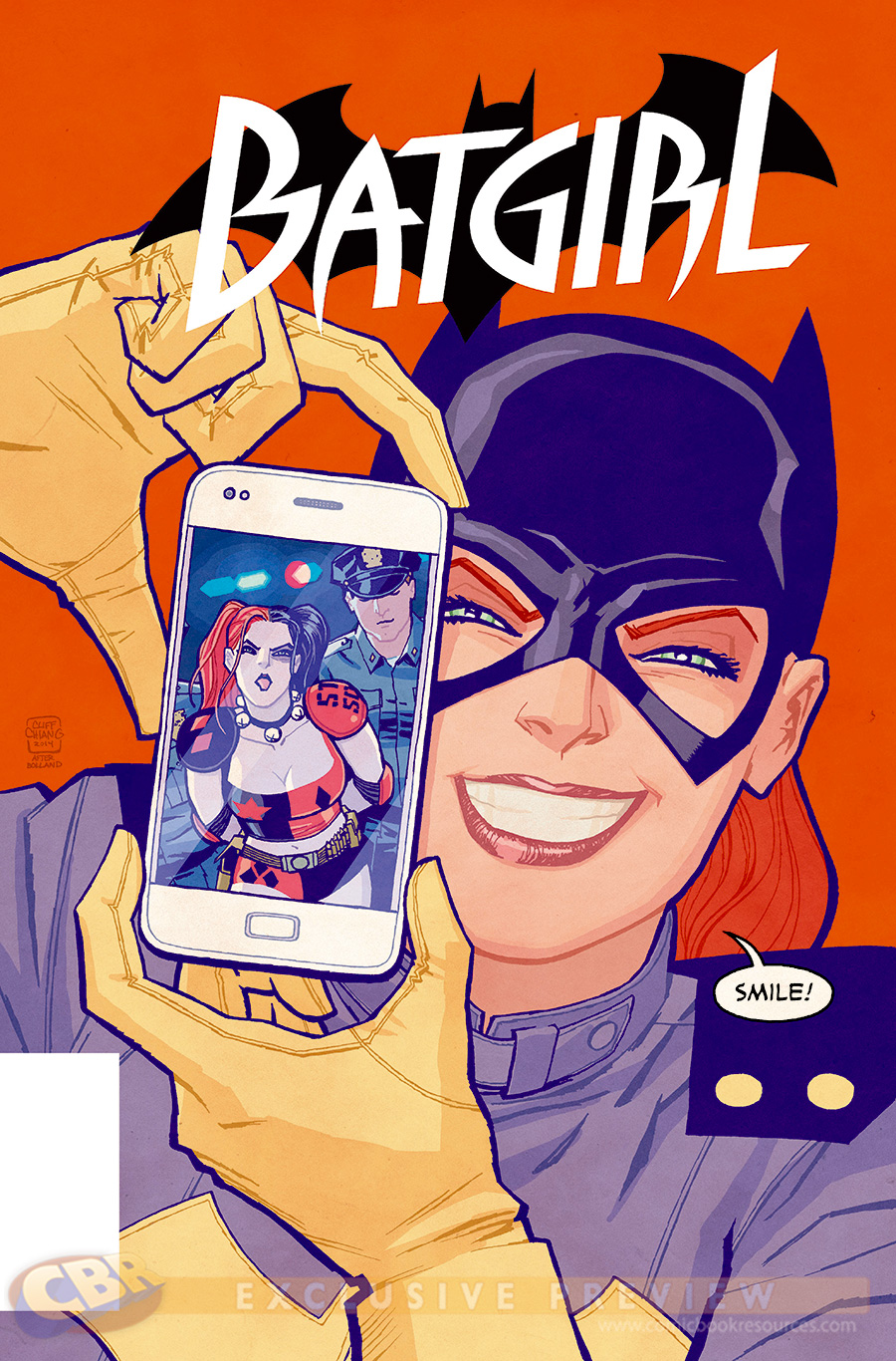 Batgirl #39 by Cliff Chiang