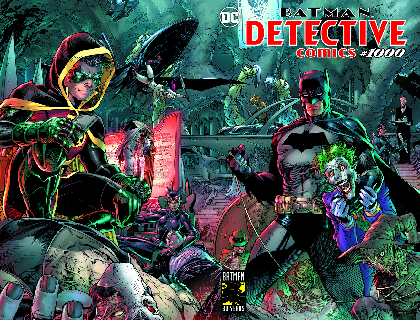 Detective Comics #1000 Main Cover by Jim Lee
