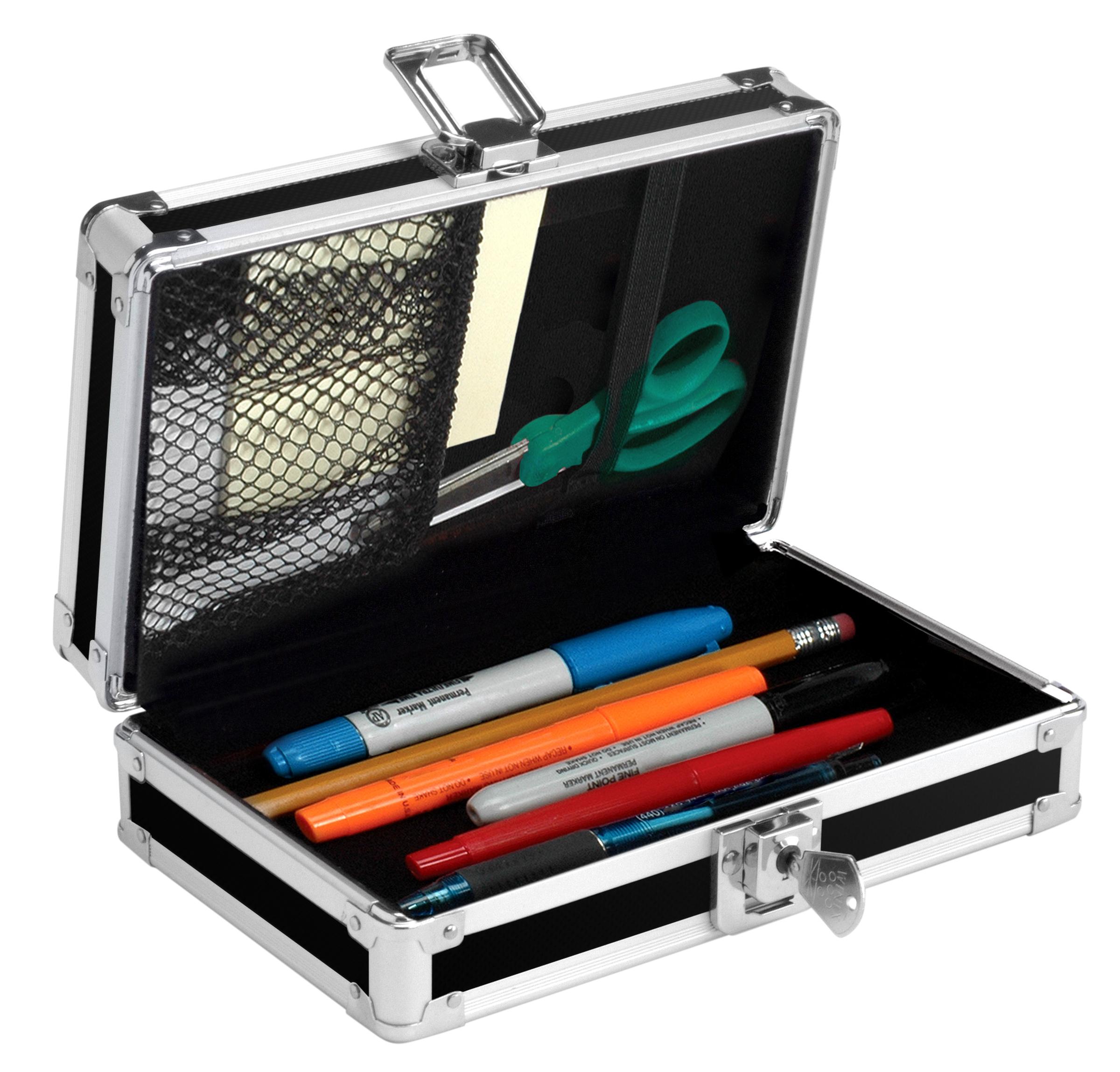 Vaultz Locking Pencil Boxes