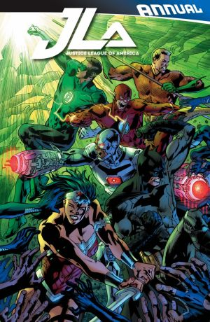 Justice League of America Annual #1 Cover by BRYAN HITCH
