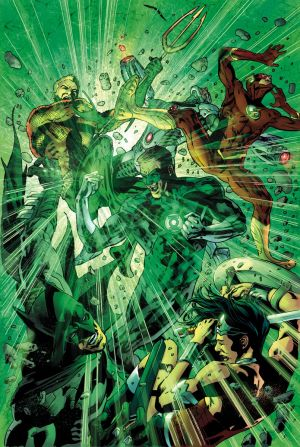 Justice League of America #12 Cover by BRYAN HITCH