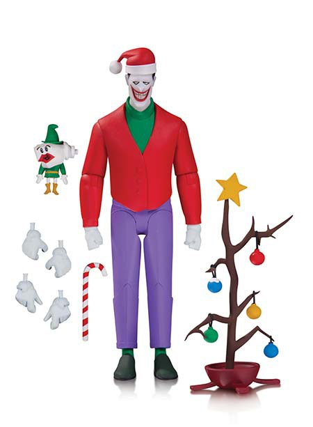 BATMAN: THE ANIMATED SERIES: CHRISTMAS WITH THE JOKER ACTION FIGURE $28