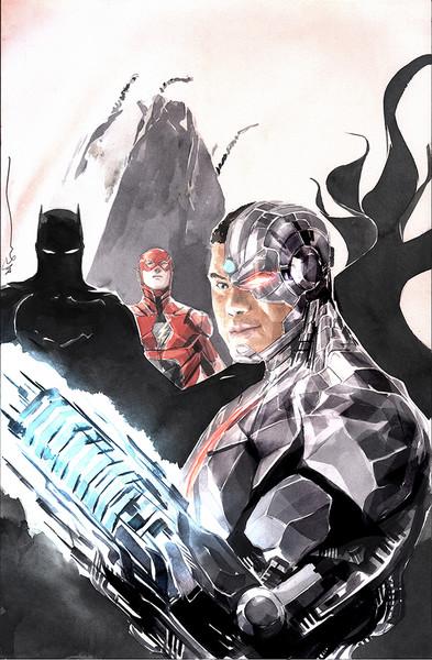 Cyborg #18 Variant