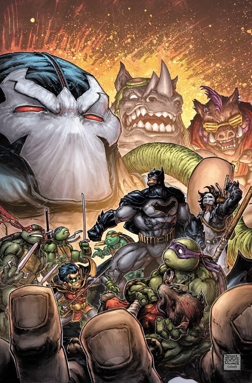 Batman/Teenage Mutant Ninja Turtles #3