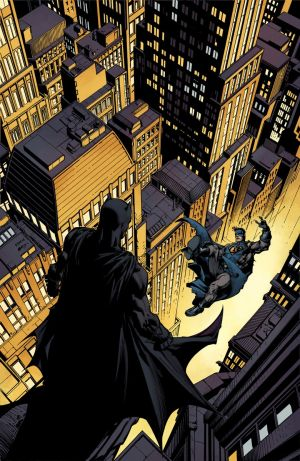 Batman #4  covers by DAVID FINCH and MATT BANNING