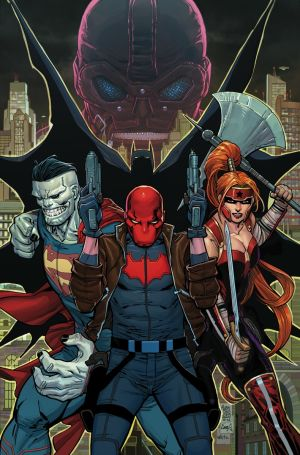 Red Hood and the Outlaws #1 Cover by GIUSEPPE CAMUNCOLI