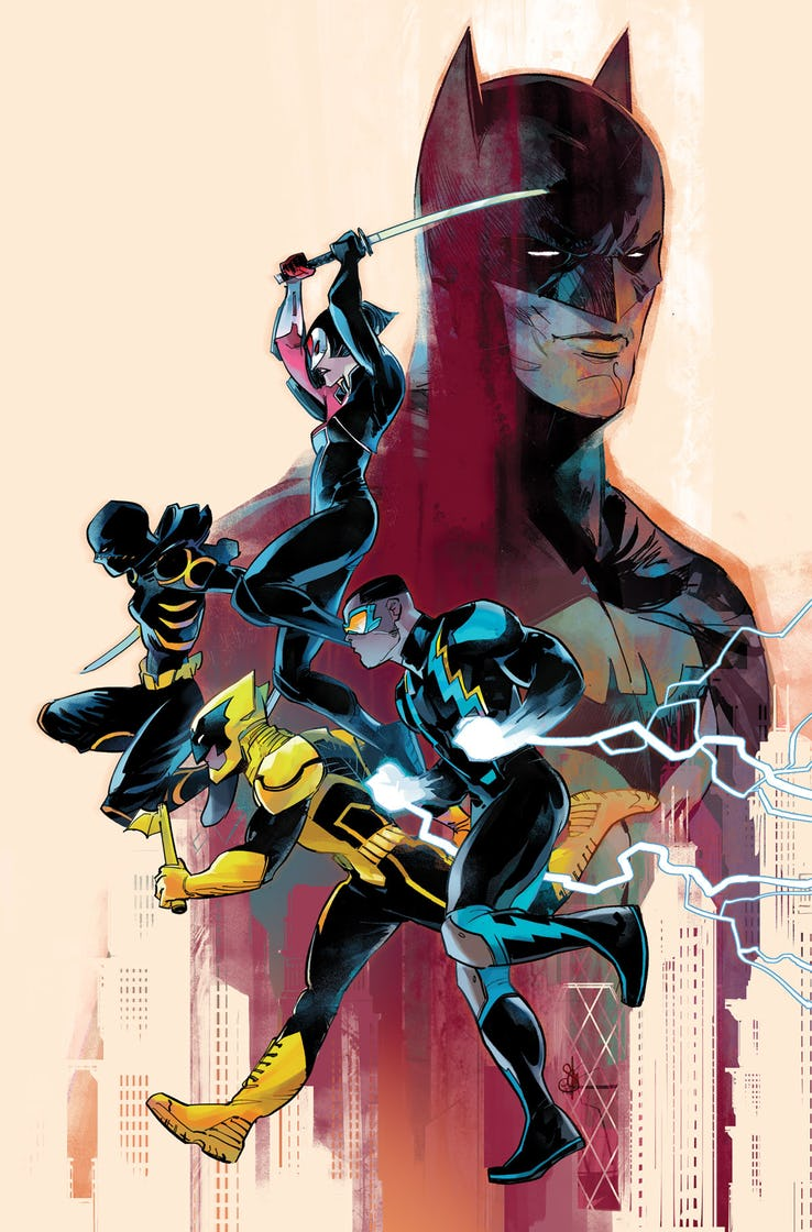 Batman and the Outsiders #2 Variant