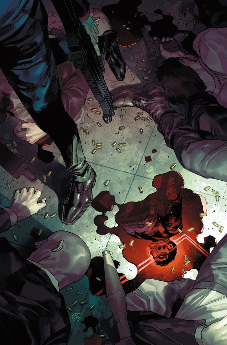 Red Hood: Outlaw #35 Variant