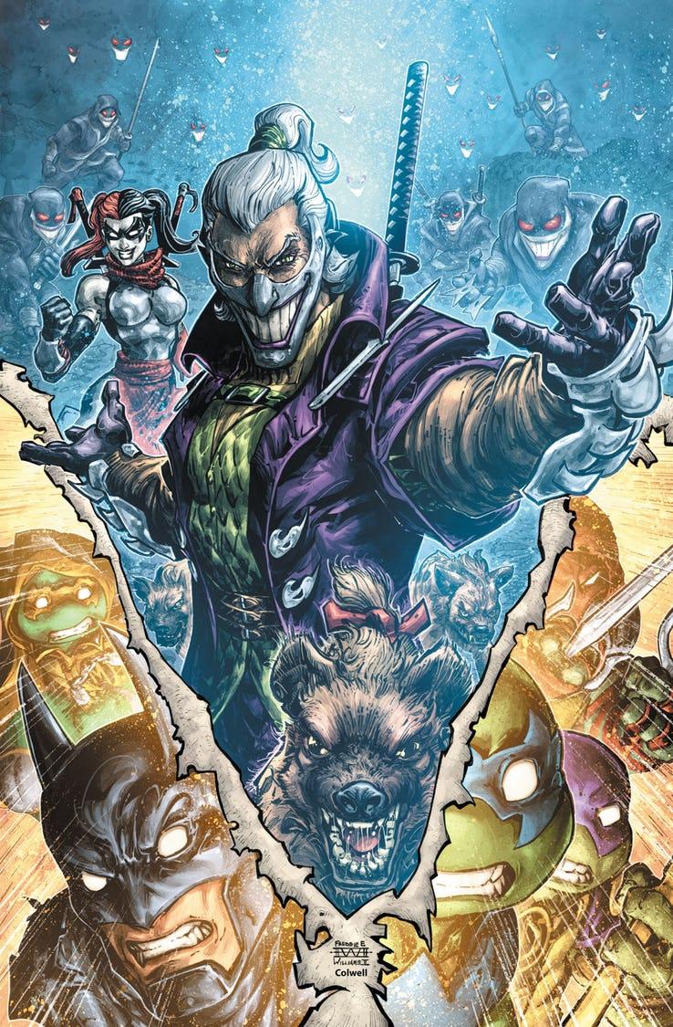 Batman/Teenage Mutant Ninja Turtles III #4