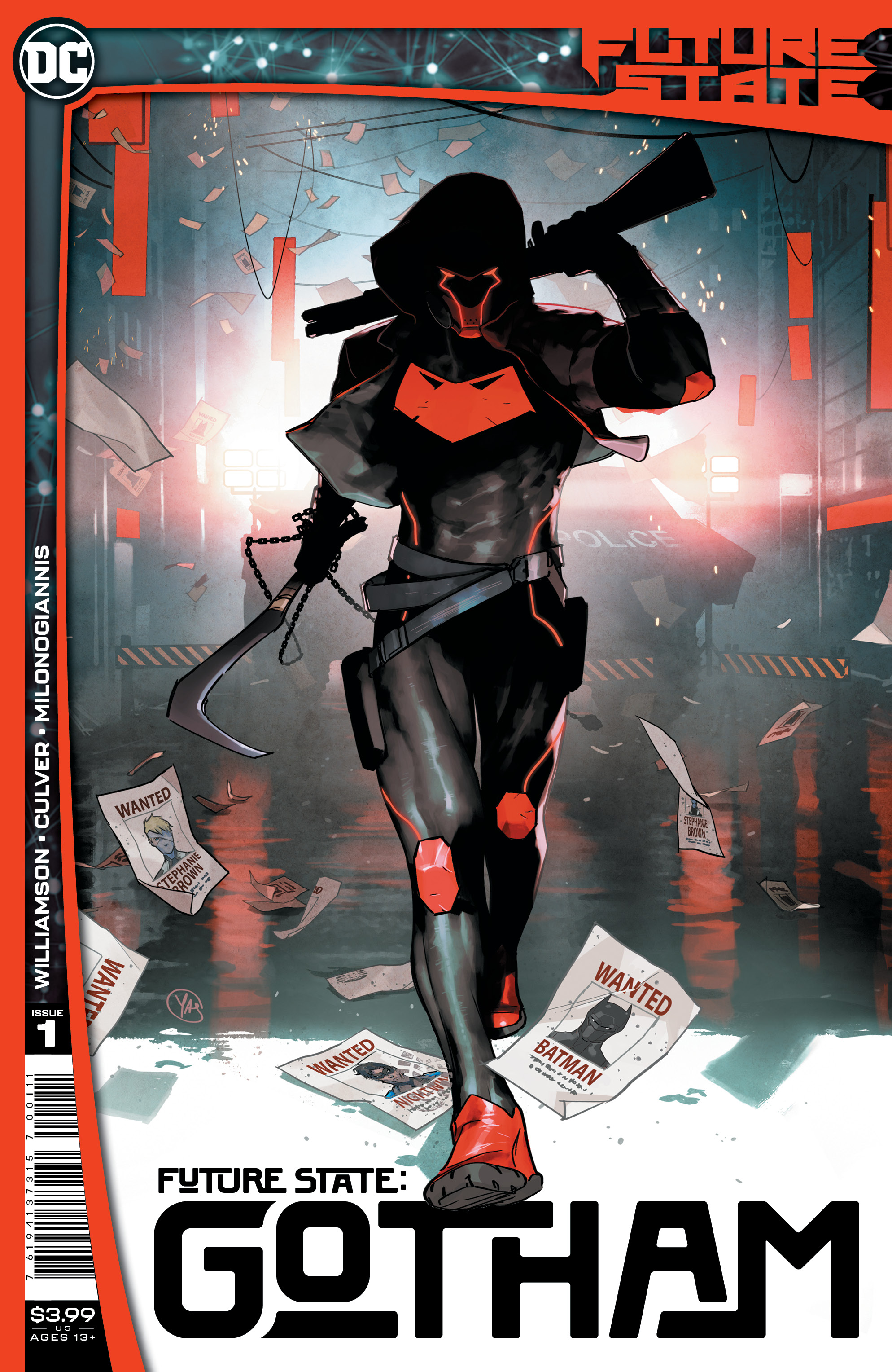 Future State: Gotham #1 cover