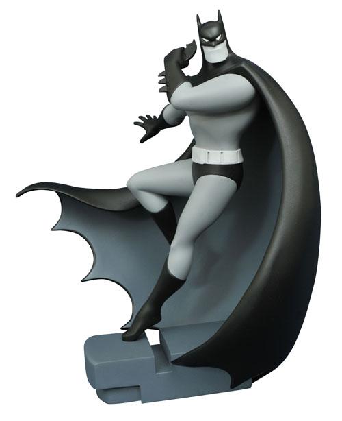 SDCC 2016 DC GALLERY BATMAN TAS B&W ALMOST GOT EM BATMAN FIGURE