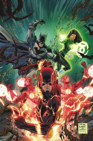 Justice League # 2 Covers by TONY S. DANIEL and MARK MORALE