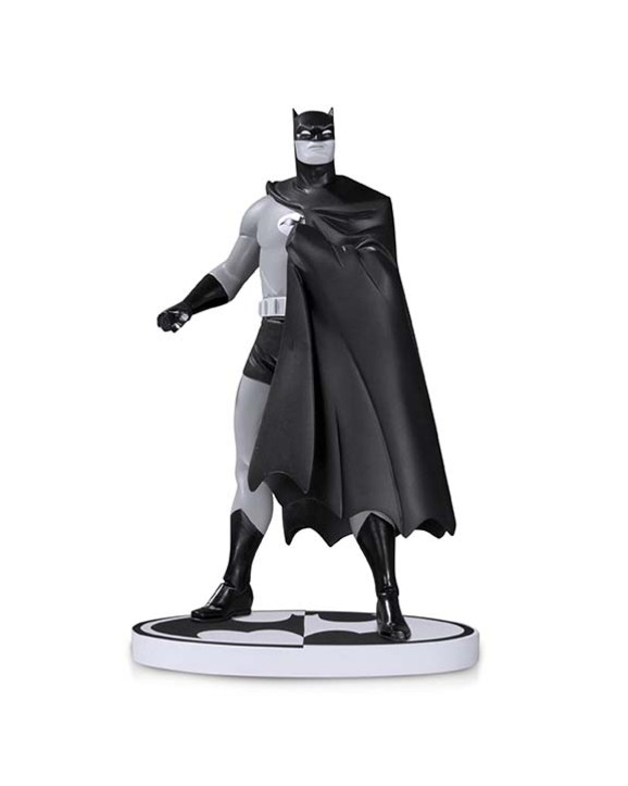 BATMAN: BLACK AND WHITE BATMAN BY DARWYN COOKE SECOND EDITION STATUE