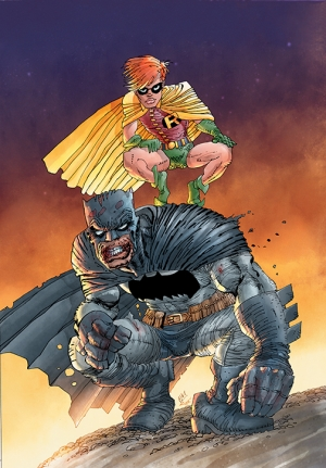 Detective Comics #1000 1980's Variant by Frank Miller