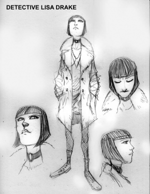 Gotham by Midnight Lisa Drake Concept Art