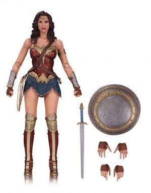 DC FILMS: BATMAN v SUPERMAN: DAWN OF JUSTICE WONDER WOMAN ACTION FIGURE $45
