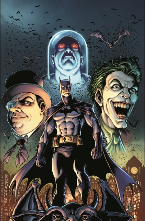 Legends of the Dark Knight #1 Darick Roberston Main Cover