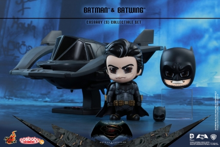 Batman v Superman: Dawn of Justice Batman and Batwing Cosbaby Collectible Set