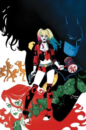 Harley Quinn #1 Covers by AMANDA CONNER