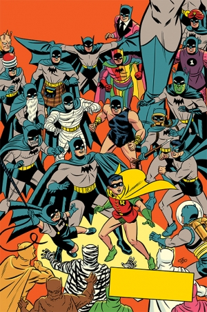 Detective Comics #1000 1950's Variant by Michael Cho