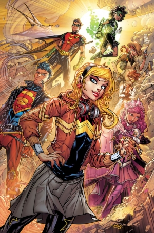 Young Justice #8 Variant