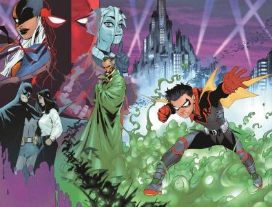 Robin #1 Variant Cover